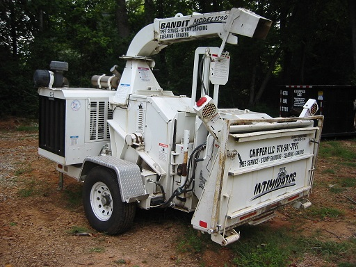 Expert Stump Grinding Services In Holly Springs GA - Chipper LLC Tree Service - 17_inch_capacity_chipper(1)