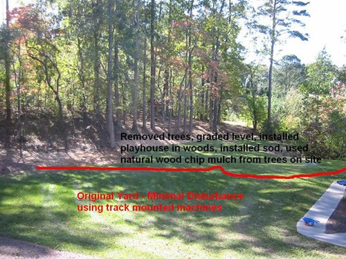 Property Grading & Landscaping Cumming GA - Chipper LLC Tree Service - Grading_and_Landscaping